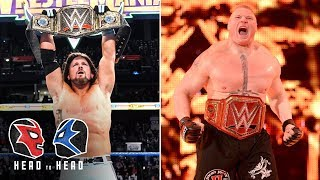 Would you rather be WWE or Universal Champion?: WWE Head To Head