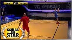 Spiel 12 - Völkerball - Schlag den Star