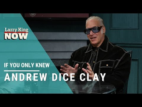 Clint August - Andrew Dice Clay: If You Only Knew. Love his Sinatra Story