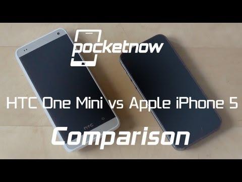 HTC One Mini vs iPhone 5 | Pocketnow