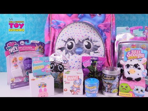 Hatchimals Surprise Backpack Toy Opening Disney Gift Ems Num Noms | PSToyReviews