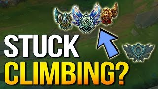 STUCK CLIMBING? How to fix it and carry more or find what