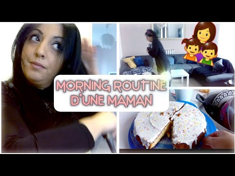 [ 👩‍👧‍👦MORNING ROUTINE D'UNE MAMAN 👩]