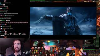Asmongold Watches WoW Cinematics And Warbringers Videos Just Before The Launch Of BFA