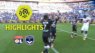 Olympique Lyonnais - Girondins de Bordeaux (3-3) - Highlights - (OL - GdB) / 2017-18