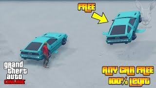 How To Get Any Car You Want For FREE With This (GTA 5 Online Money Glitch) 100% legit