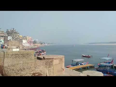 Wat a beauti of Ganga ghaat in Sunshine