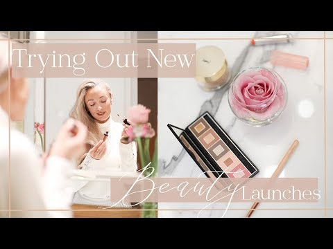 TEST NEW BEAUTY LAUNCHES WITH ME  // January & February 2018 // Fashion Mumblr