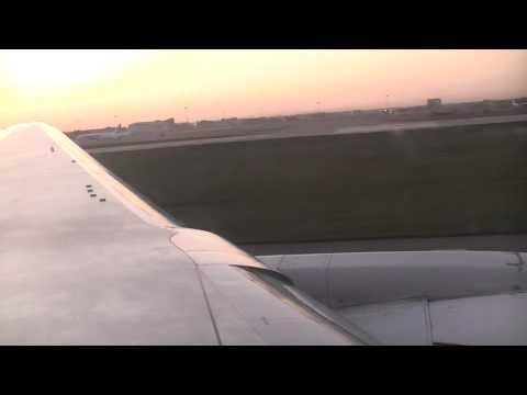B767-300 Air Astana take off Alma Ata - Astana
