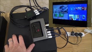 How to Play Xbox & PS4 together on the 1 TV, PIP with 2 HDMI sources