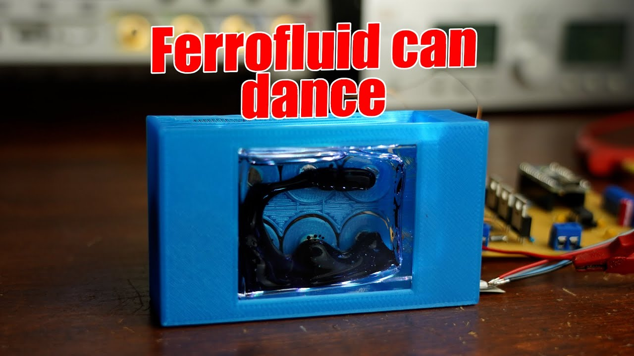 Making Ferrofluid Dance to the Music!