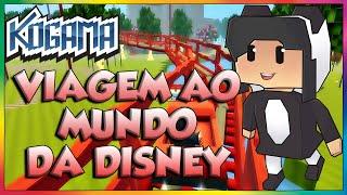 Kogama - Viagem ao mundo da Disney.