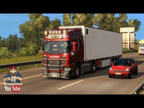 [ETS2 v1 31] Painted Truck Traffic Pack v5 6 *455 Combo with skins*