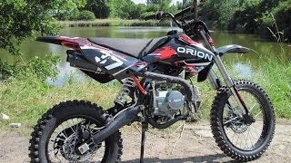 unboxing and build a Pit Bike, Orion AGB 37, 125ccm and first Drive ;o)..!!!