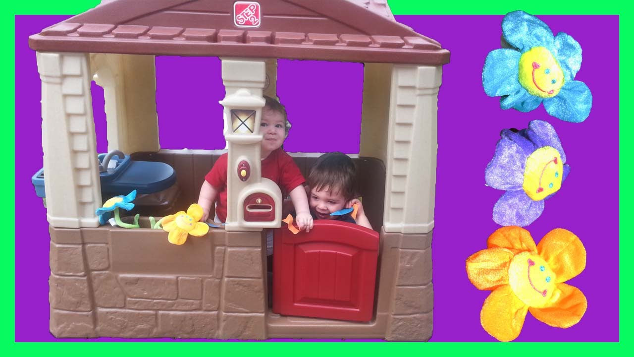 step2 cozy cottage neat and tidy ii outdoor indoor playhouse youtube rh youtube com