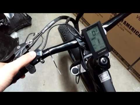 LCD Screen Setting for Pedal Assist 0 on Voltbike Yukon 750, Voltbike Mariner and Voltbike Elegant