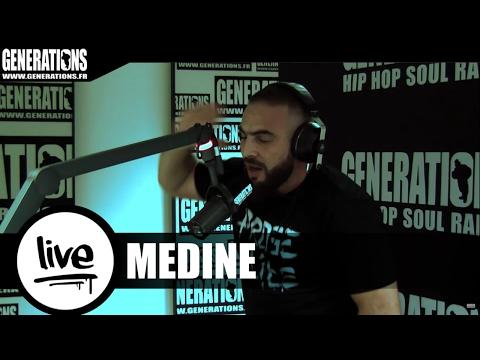 Youtube: Médine – Prose Élite (Live des studios de Generations)