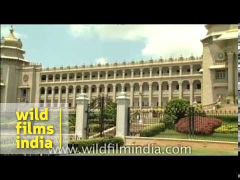 Vidhana Soudha - Assembly building of Karnataka, in Bangalore