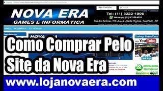 Como Comprar online Pelo Site da Loja Nova Era, o Vídeo Game mais Barato do Brasil - Santa Efigenia