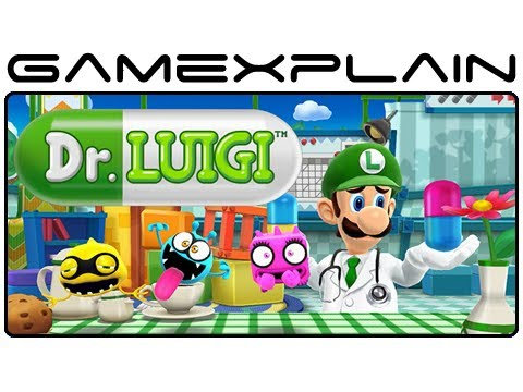 Dr. Luigi - Game & Watch (Wii U eShop Video Preview)