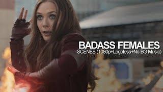 Badass Females Scenes [1080p+Logoless] (NO BG Music)