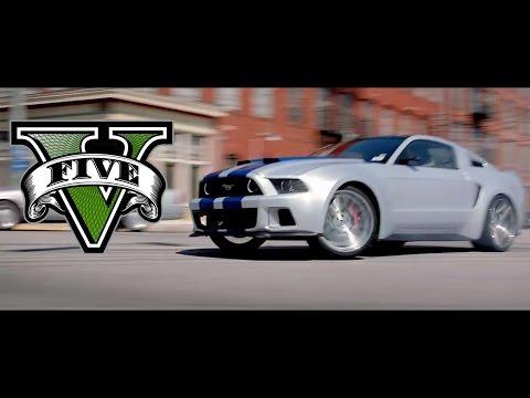GTA V Need For Speed 2014 Movie - Funny Bus Scene
