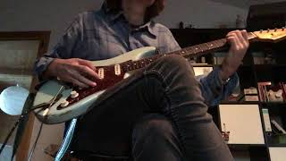 Seymour Duncan SSL-4 bridge position in Fender Customshop Strat 60 relic