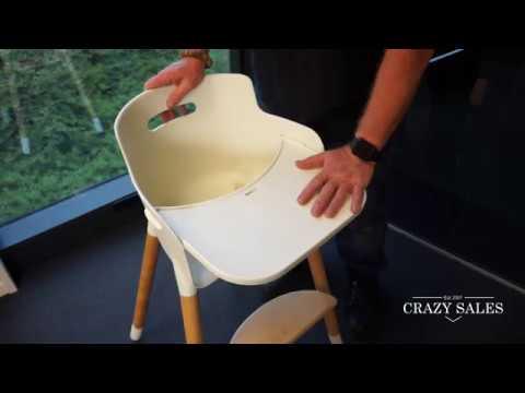 CS16479  Multifunctional Adjustable Highchair