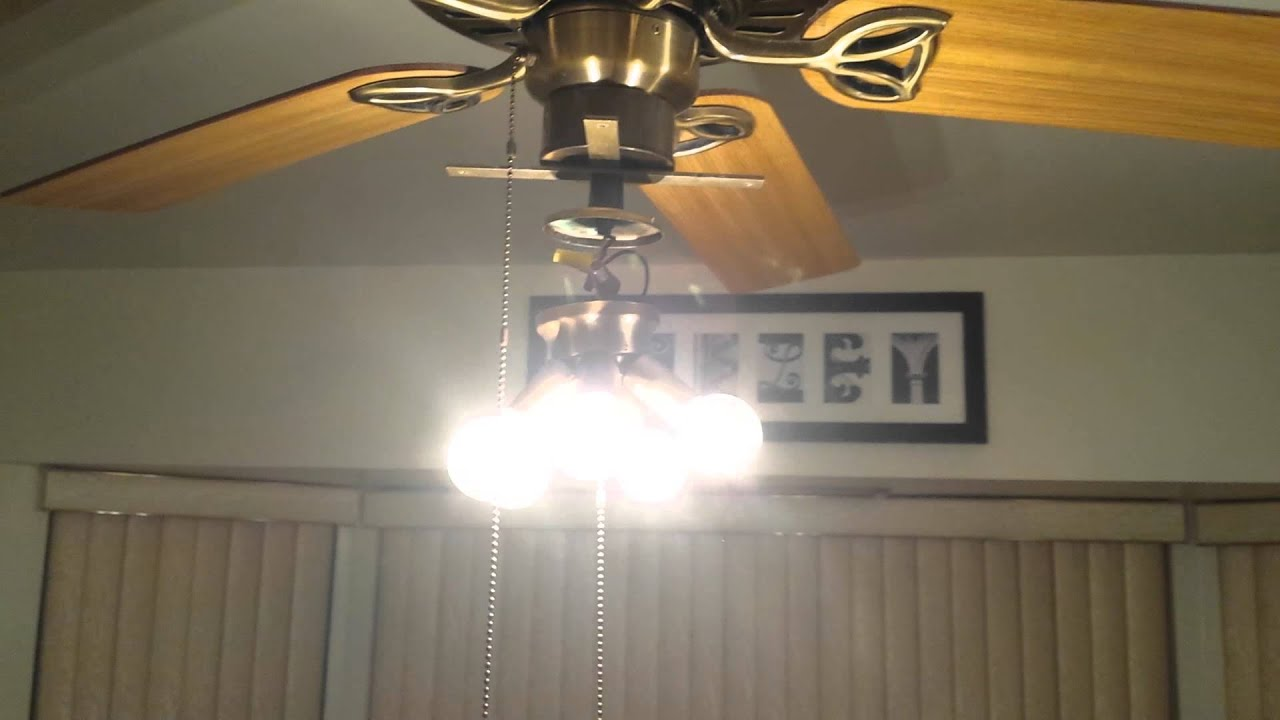 how to replace candelabra light sockets in ceiling fan [ 1280 x 720 Pixel ]