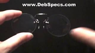 Pince-Nez reading glasses Thumbnail