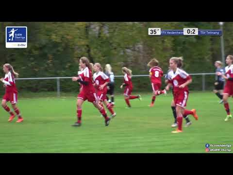 B-Juniorinnen Spielbericht:  FFV Heidenheim gegen TSV Tettnang