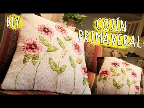 Flores bordadas a mano  *diseño especial DIA DE LA MADRE*Lazy daisy stitch/embroidered flowers
