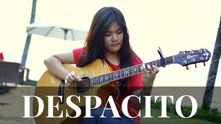 (Luis Fonsi, Daddy Yankee ft. Justin Bieber) Despacito - Fingerstyle Guitar Cover [TABS]