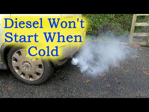 Diesel Won't Start when Cold - White Exhaust Smoke (+ What are Glow Plugs?)