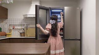 냉장고 이렇게 정리하면 청소가 필요 없다구요 ♀️ 냉…