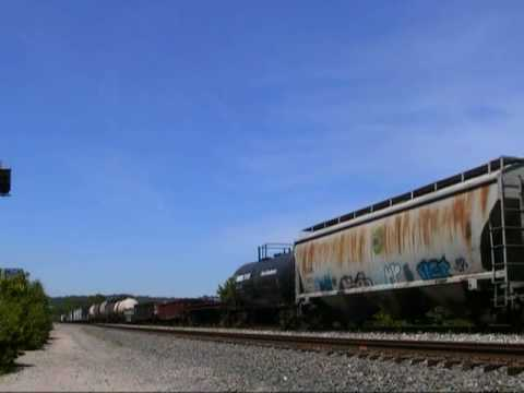 Indiana & Ohio, NS, and CSX action in the Cincinnati area. 6-10-10