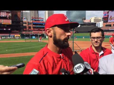 St. Louis Cardinals star Matt Carpenter talks about returning to the field