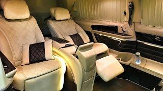 Когда внутри как дома - нереальный Mercedes V-Class + MAYBACH и другие - A1tuning - экскурсия : )