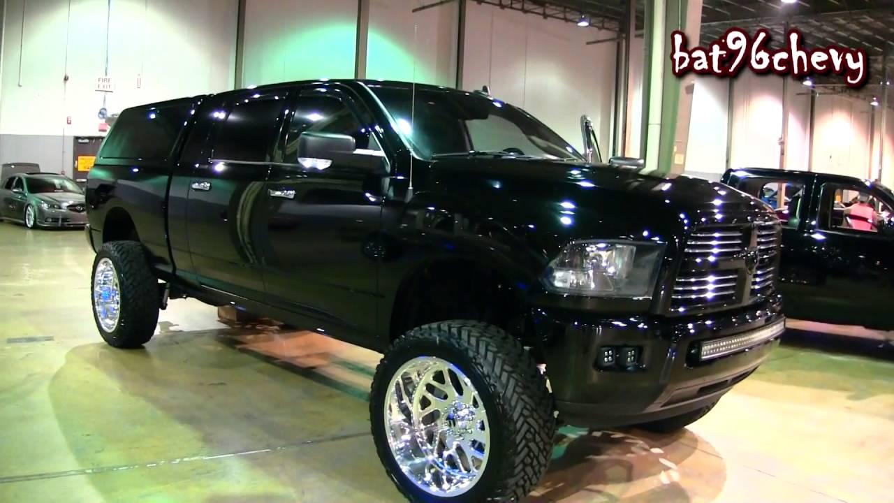 """2014 Dodge Ram 2500 Mega Cab Truck w/ 7.5"""" lift on 24x14 ..."""