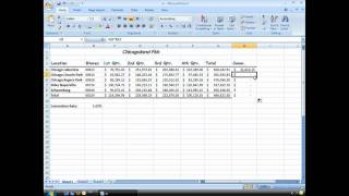 Excel Basics: Absolute reference
