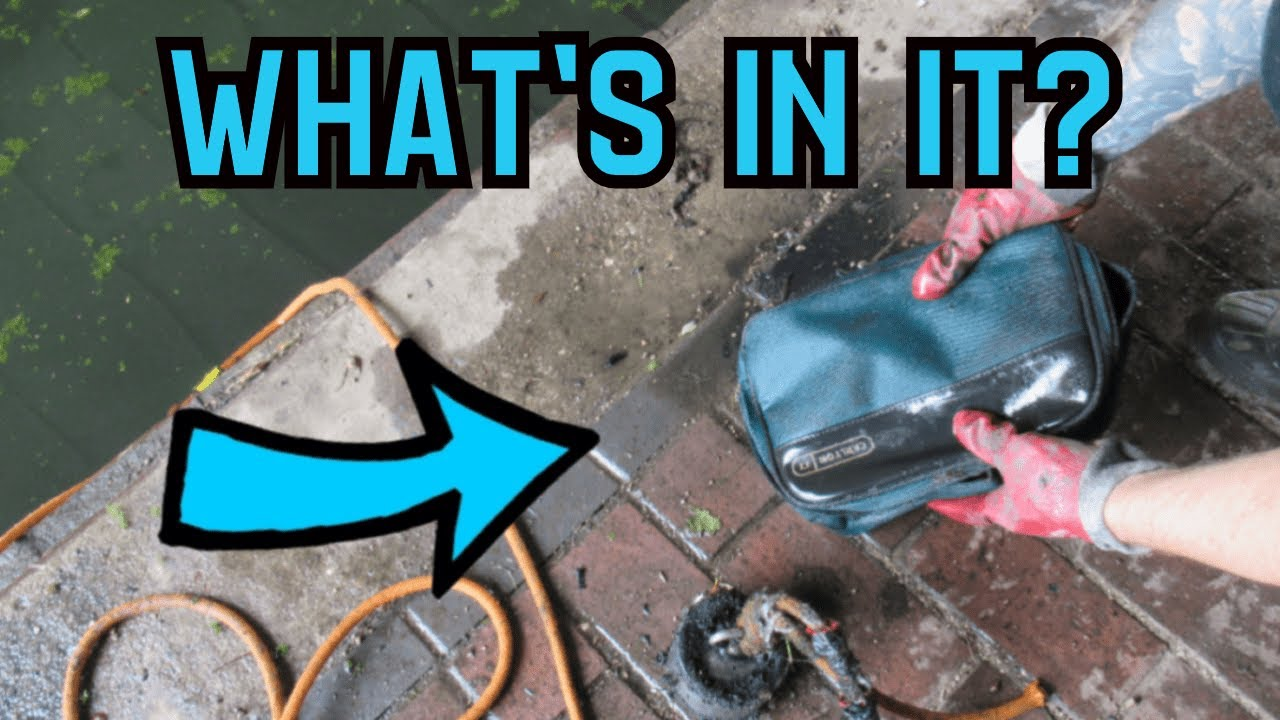 Mystery Bag Found WHAT'S IN IT? - Magnet Fishing