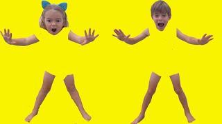 Copiii au intrat in televizor | Sketch de la Bogdan si Anabella
