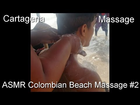 ASMR Colombian Beach Massage 2