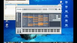 KXStudio 10.04-3 Desktap Mix - Part 1 - SynthsNSamplers