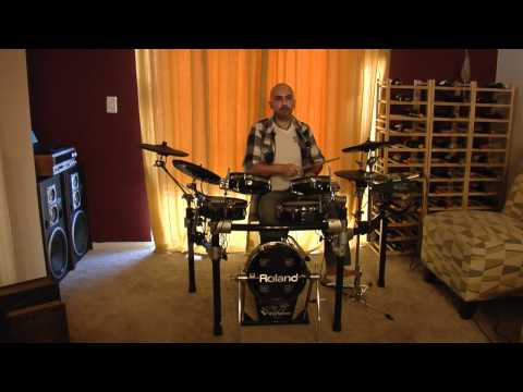 Mike Shariar Grooving with V-Drum