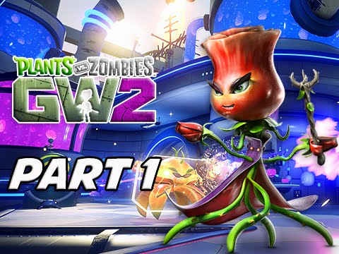 Plants vs Zombies Garden Warfare 2 Walkthrough Part 1 - LEAF Badge Storyline Campaign (PvZGW2)