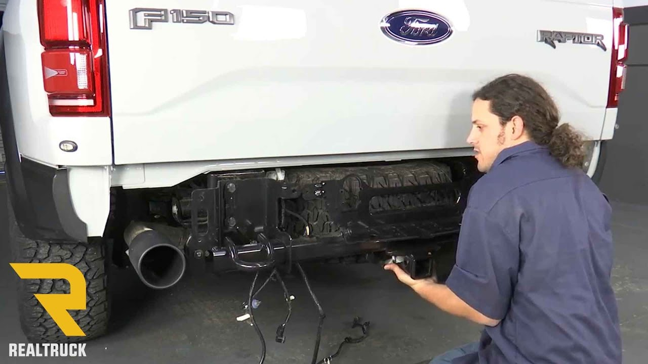how to remove factory rear bumper on 2017 ford raptor at realtruck com youtube [ 1280 x 720 Pixel ]