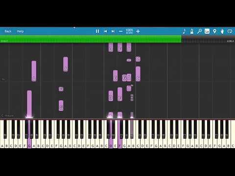 NEGERI DI AWAN - KATON BAGASKARA - PIANO TUTORIAL