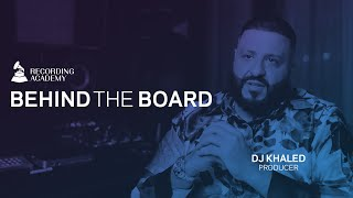 DJ Khaled Talks His Early Days, Working With Music's Biggest Names & More | Behind The Board