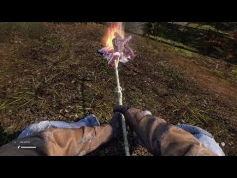 DAYZ PS4 How to make a fire !